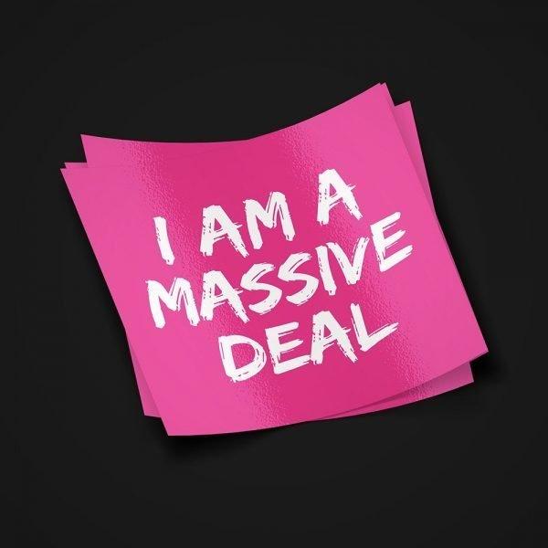 Massive Deal Sticker